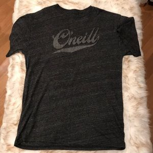 NWOT O'Neill Gold Series Gray T-shirt Size Large